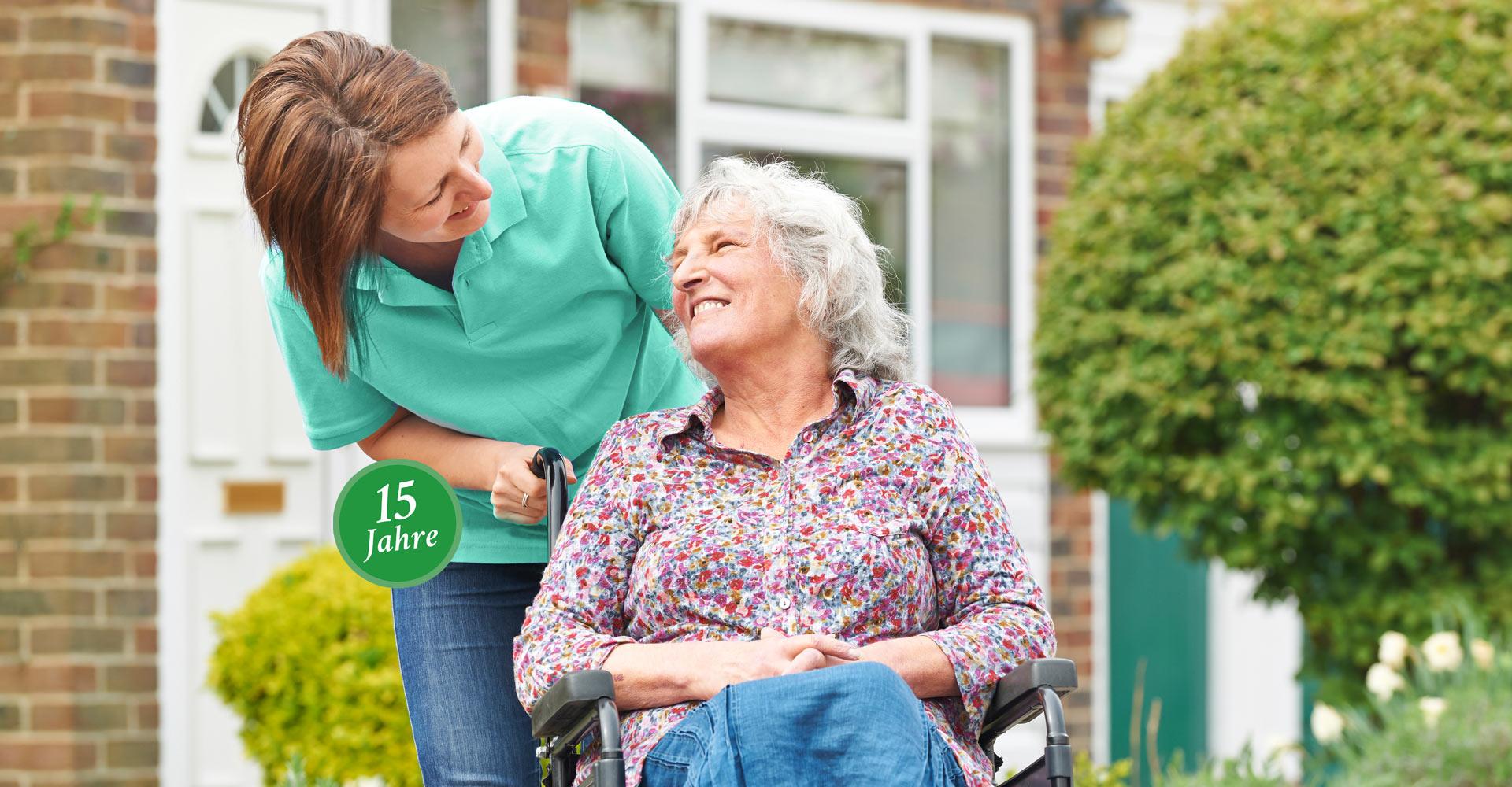 Seniorenbetreuung ab Pflegegrad 1 seit 15 Jahren