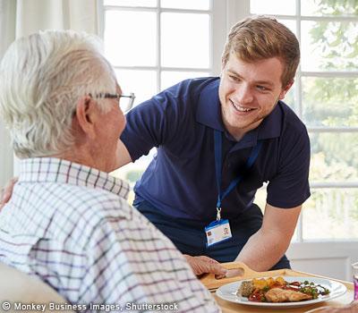 Versorgung von Senioren
